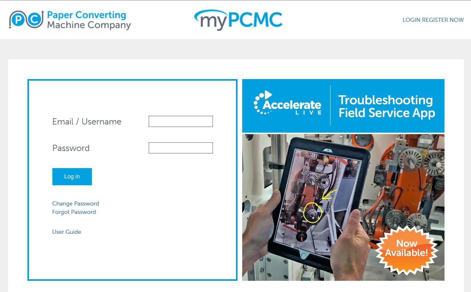 myPCMC screenshot